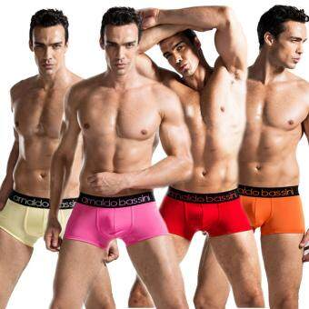 Harga Arnaldo Bassini MultiColor Men's Briefs Underwear Boxer (Set of 4)