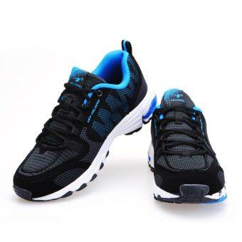 Harga DELOCRD Mens Sport Soft Running Fashion Athletic Shoes