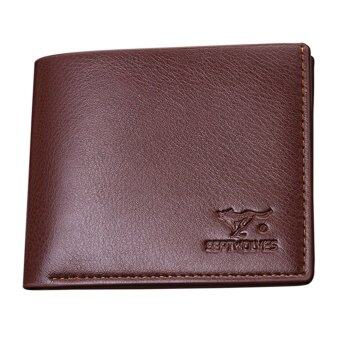Harga SoKaNo Trendz Sept Wolves Wallet - Brown