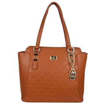 Harga 100% Original British Polo Summer Sale Elegant handbag Brown (PL61120-02)