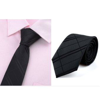 Harga Mens Slim Satin Narrow Skinny Tie Ties