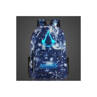 Harga AMG Assassins Creed Noctilucent backpack schoolbag