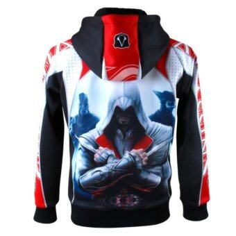 Harga Assassin's Creed Hoodie Men Cotton Jacket Coat