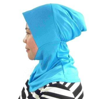 Harga Sports Hijab Sky Blue