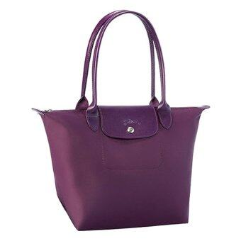Harga Longchamp Planetes Long Handle Medium Bilberry