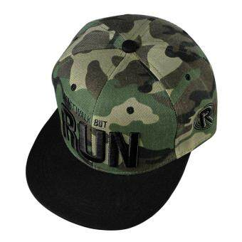 Harga Fashion Snapback Adjustable Baseball Hip Hop Hat (Camouflage)