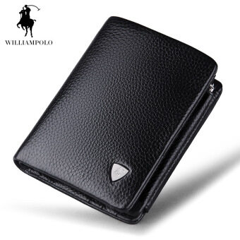 Harga British POLO Men's Purse 2016 New Leather Men's Business Wallet