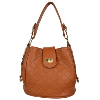 Harga 100% Original British Polo Summer Sale Elegant handbag Brown(PL61118-01)
