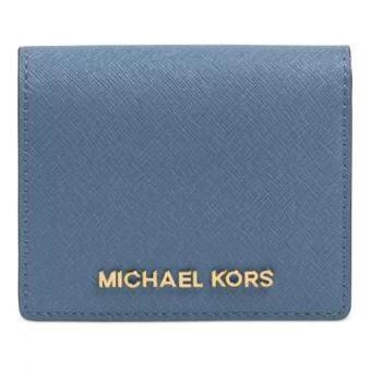 Harga Michael Kors Jet Set Flap Card Holder (Cornflower)(Int:one size)