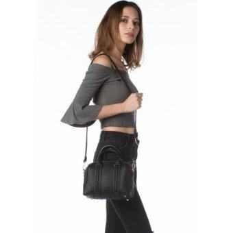 Harga Nichii Satchel Cross Body and Shoulder Bag (Black)