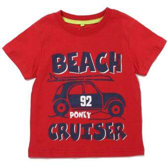 Harga PONEY BEACH CRUISER GRAPHIC TEE (RED)