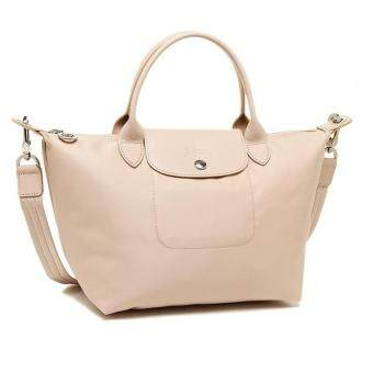 Harga Longchamp Le Pliage Neo 1515 Medium (Biege) 100% authentic guarantee