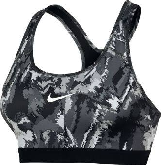 Harga Nike Women's Pro Classic Padded Oil Glitch Sports Bra (Black)