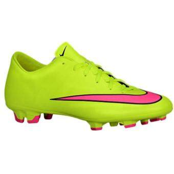 Harga NIKE MEN MERCURIAL VICTORY V FG YELLOW PINK BLACK SOCCER SHOES 651632-760 09H'