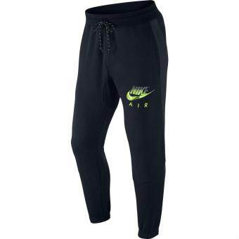 Harga Nike AW77 Fleece Cuffed Joggers Pant - Black