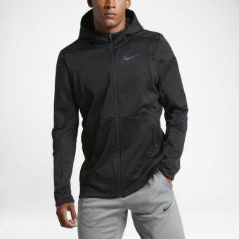 Harga NIKE MEN THERMA HYPER ELITE HOODIE BLACK 800038-010 S-2XL 11'