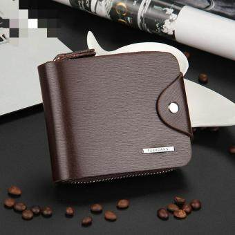 Harga JIEYUHAN Men's Wallet Business Credit Card Money Holder Purse Bifold Gift
