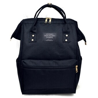 Harga Japan Styling Large Capacity Backpack - Black