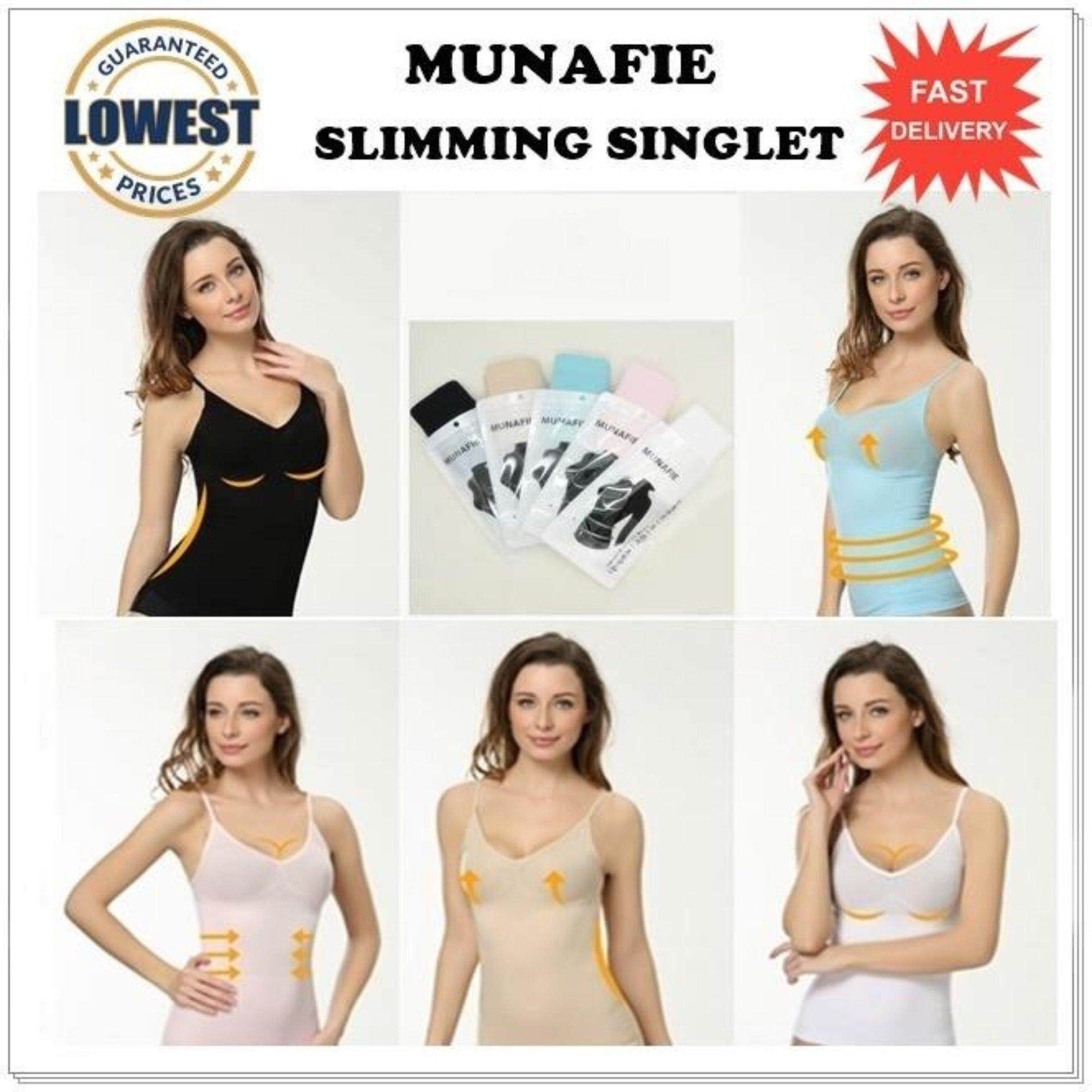 29f448a817bbf Japan s Top Selling Munafie Slimming Shapewear Singlet- LOCAL SELLER - Clearance  Sale NUDE SIZE M
