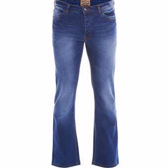 Jazz & Co Men Mid Rise Bootcut Jeans ( Indigo) - 5