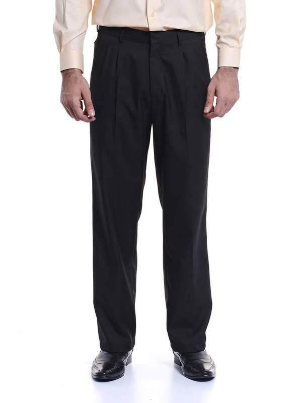 Jazz & Co Men Regular Long Pant ( black )