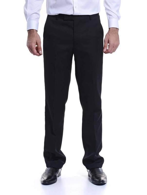 Jazz & Co Men Slim Long Pant ( black )