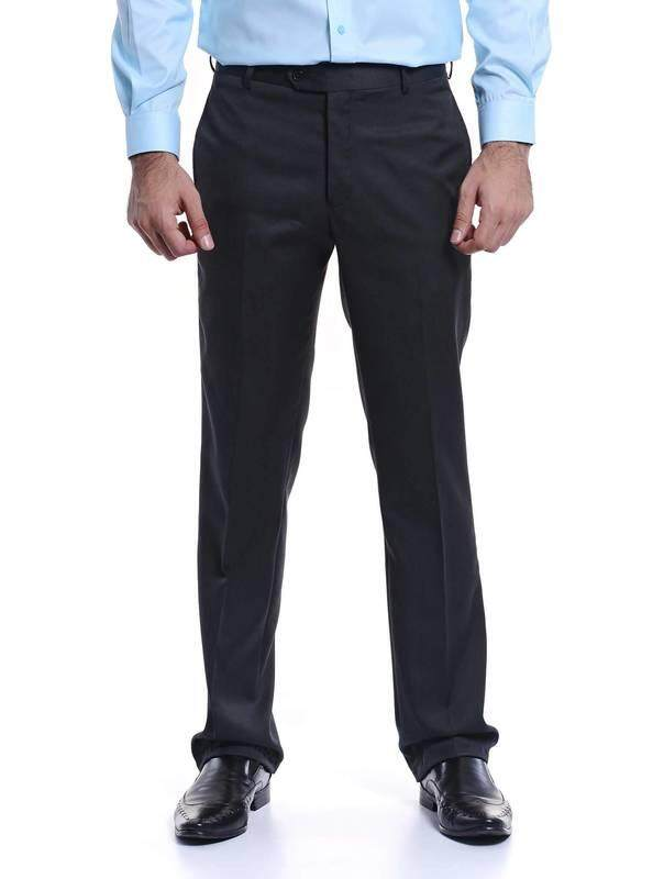 Jazz & Co Men Slim Long Pant ( charcoal )