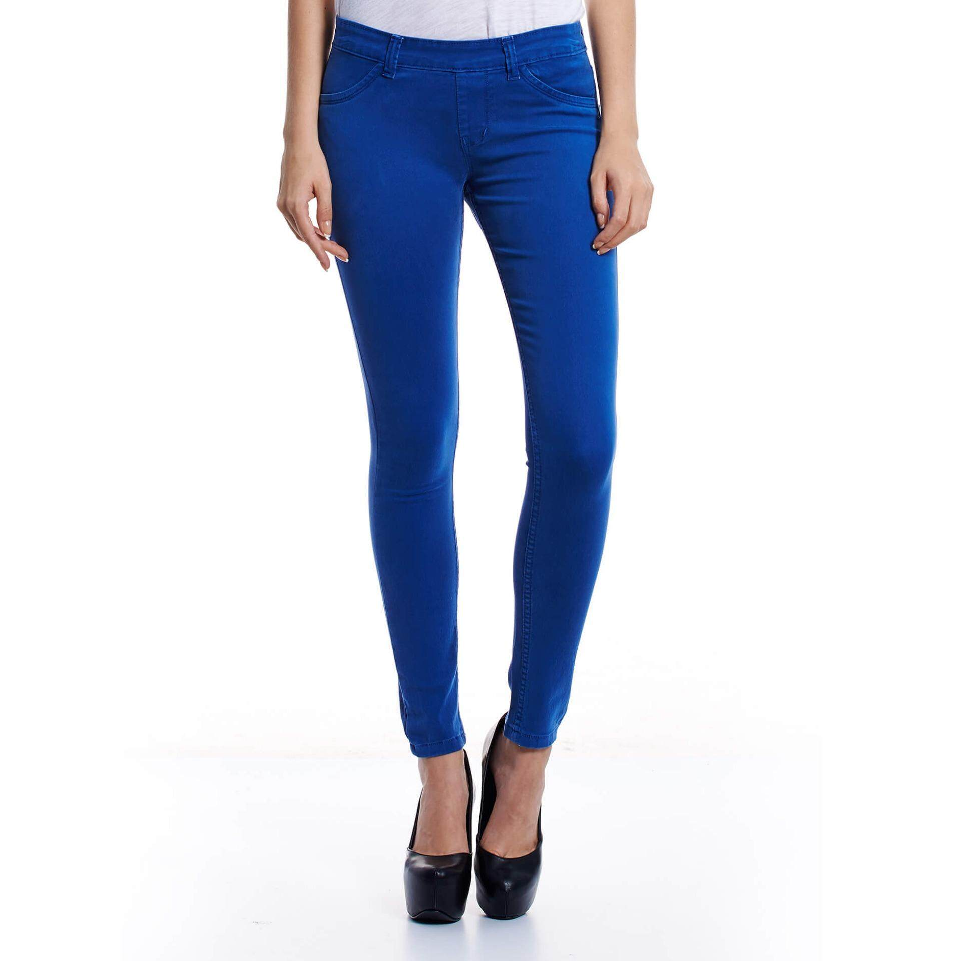 Jazz & Co Mid Rise Women Jegging  (Royal)