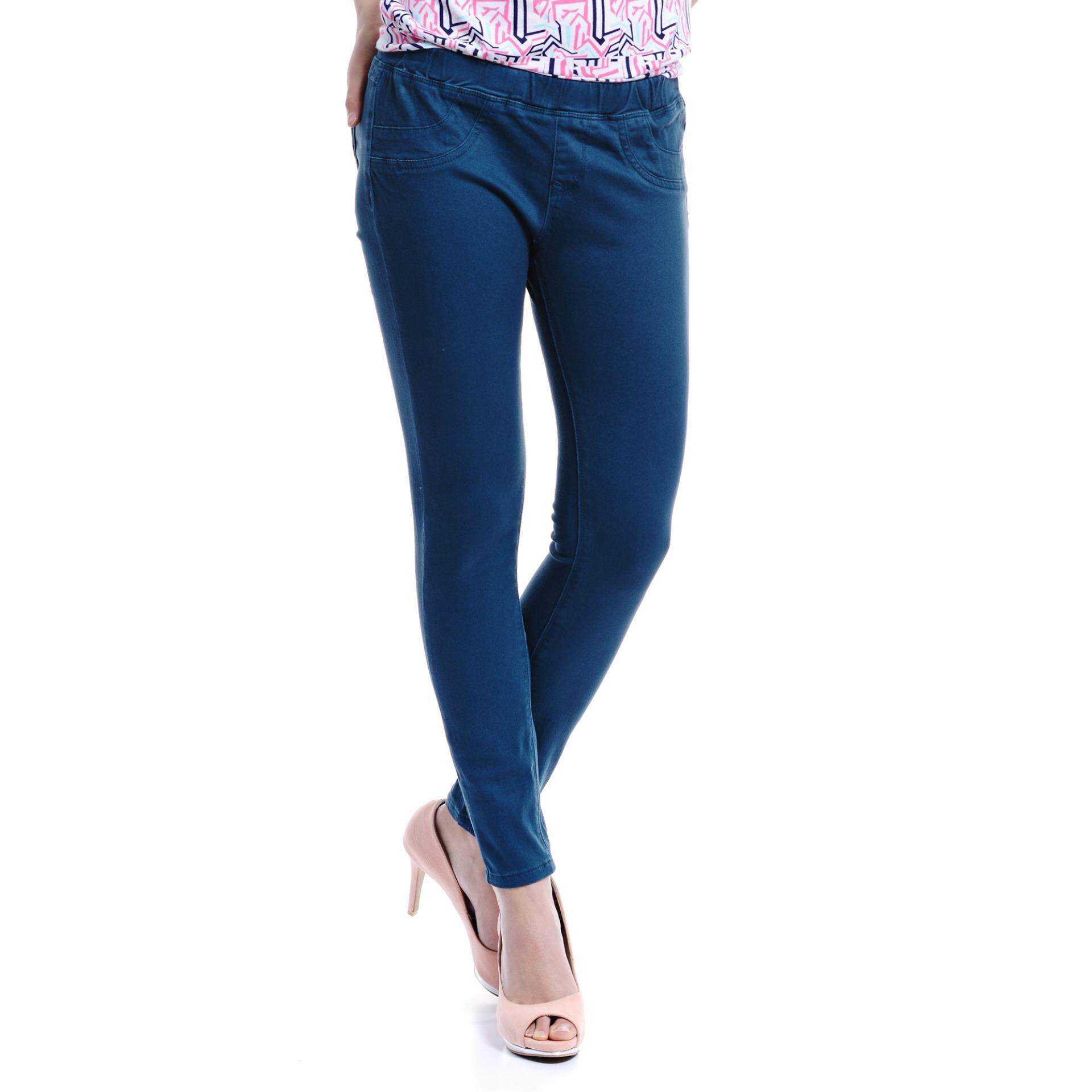 Jazz & Co Mid Rise Women Jegging (Teal)
