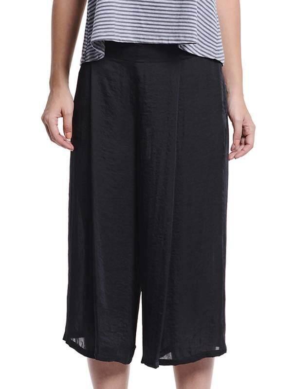 Jazz & Co Women Flare Pants ( Black)