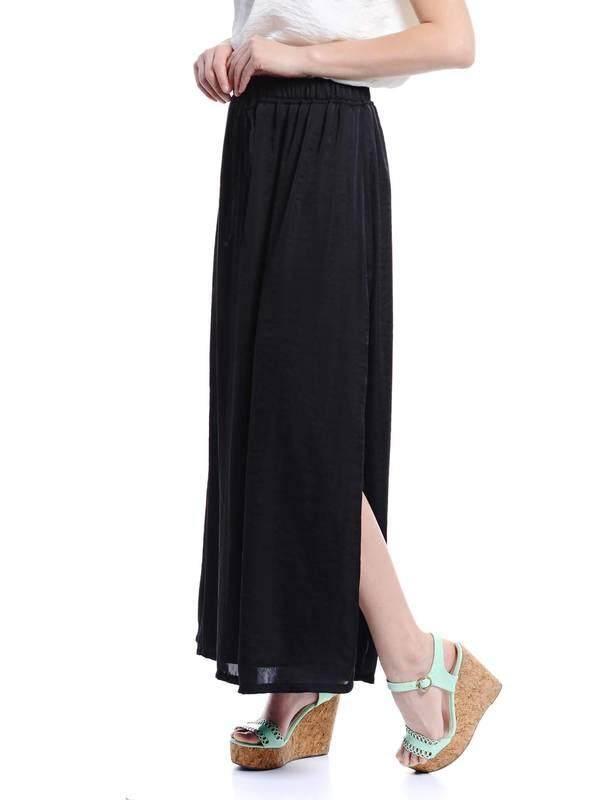 Jazz & Co Women Maxi Skirts (Black )