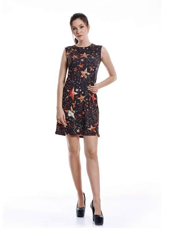 Jazz & Co Women black midi dress ( black )