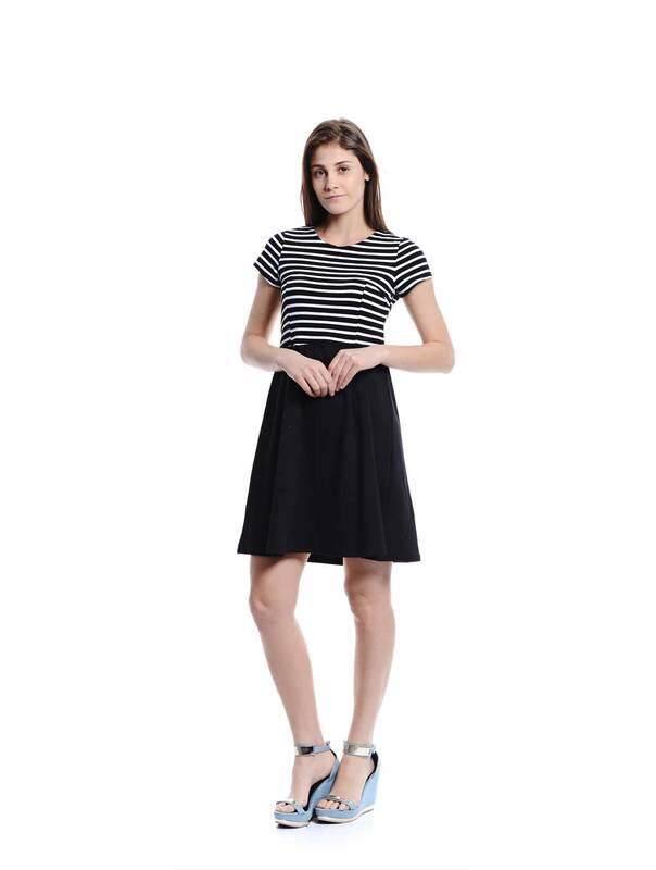 Jazz&Co Women black midi dress (black)