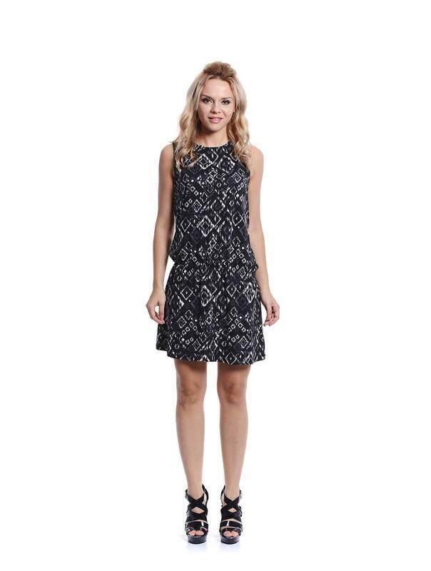 Jazz &Co Women black midi dress ( black )