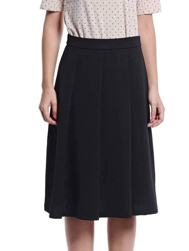 Jazz & Co Women Midi Skirts ( Black )
