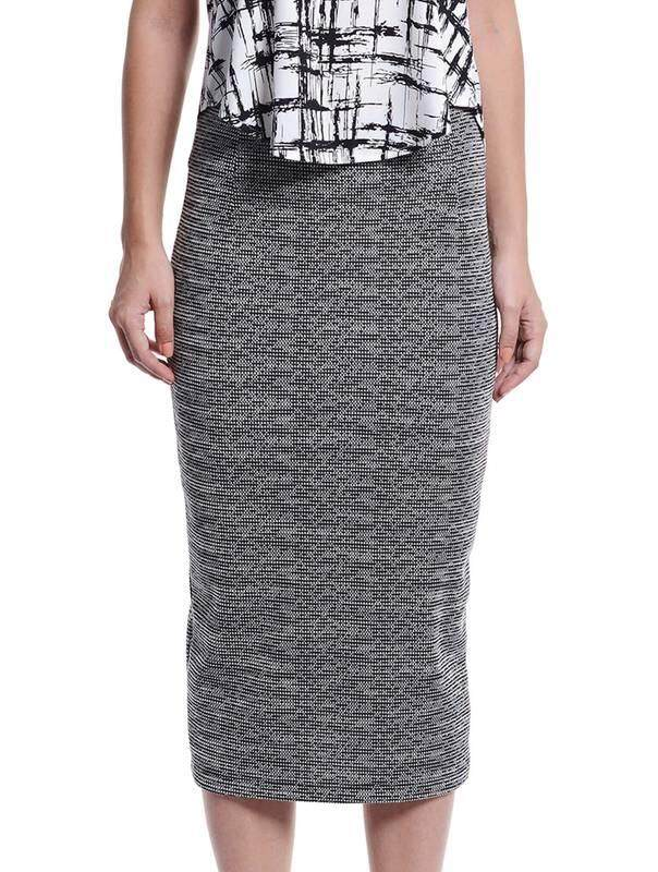Jazz & Co Women Midi Pencil Skirts (Black)