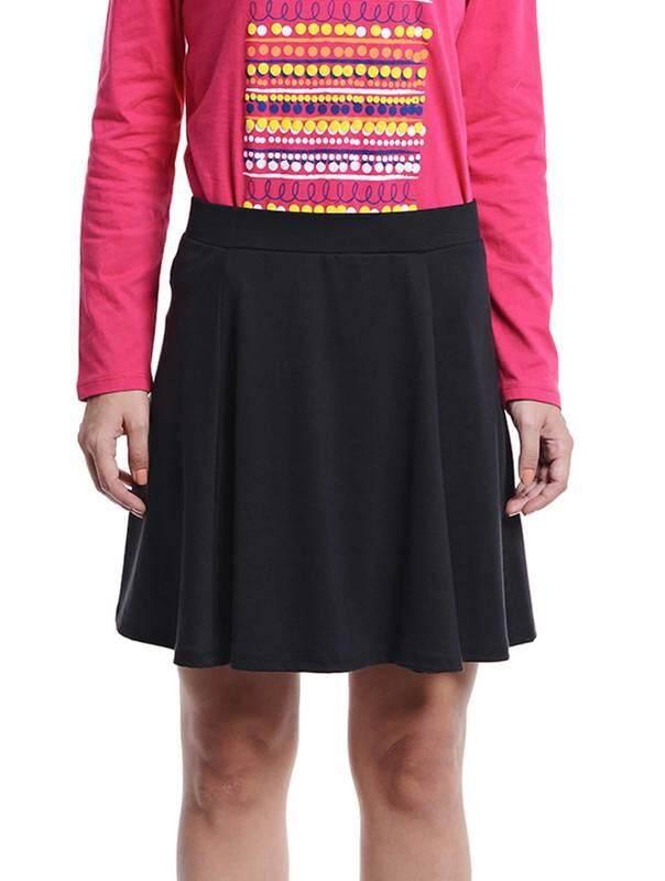 Jazz & Co Women Mini Skirts ( Black )