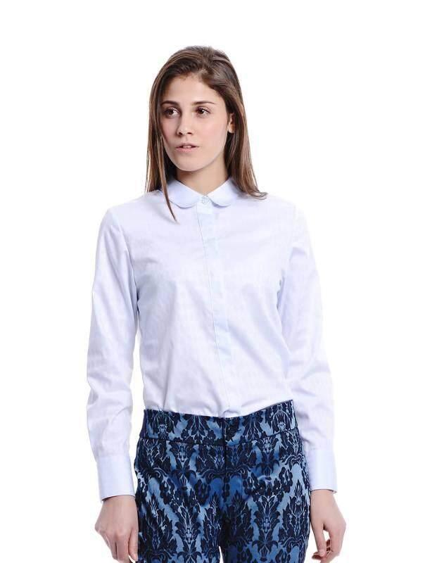Jazz & Co Women light blue long sleeve tops ( light blue )