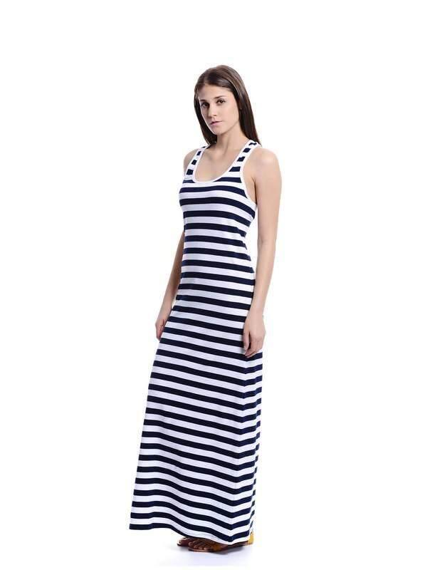 Jazz & Co Women navy maxi dress ( navy )