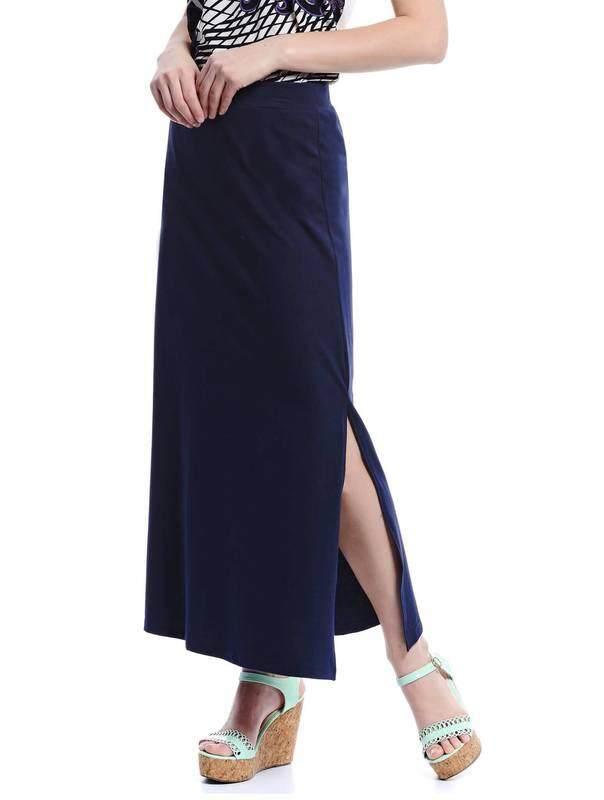 Jazz & Co Women Maxi Skirts ( Navy )