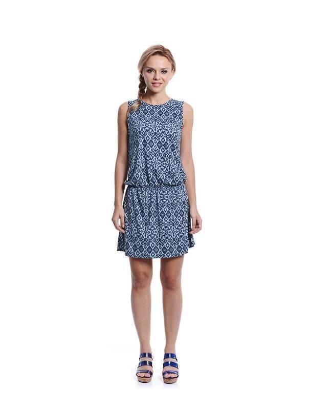 Jazz & Co Women navy midi dress ( navy )