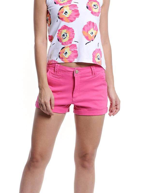 Jazz & Co Women Shorts ( Pink)