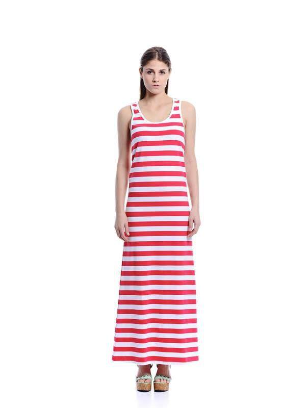 Jazz & Co Women red maxi dress ( red )