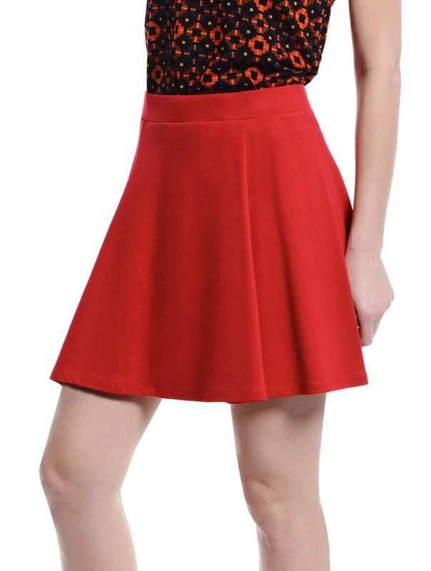 Jazz & Co Women Mini Skirts ( Red )