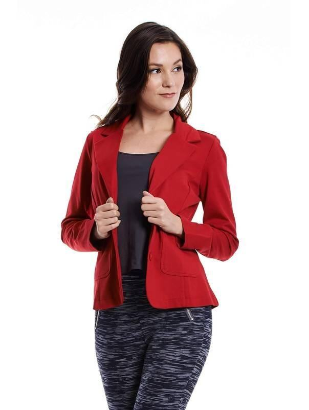 Jazz & Co Women Waistcoat Outerwear ( Red )
