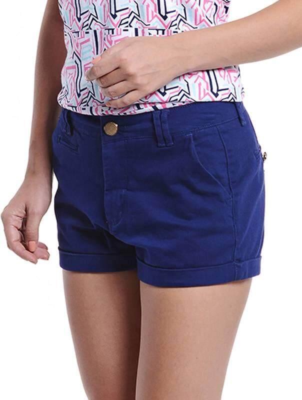 Jazz & Co Women Shorts ( Navy)