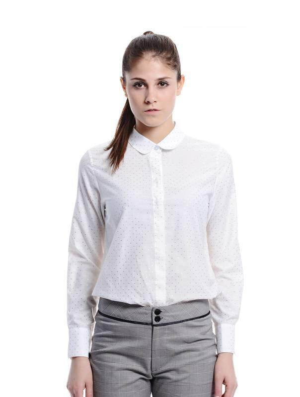 Jazz & Co Women white long sleeve tops ( white)
