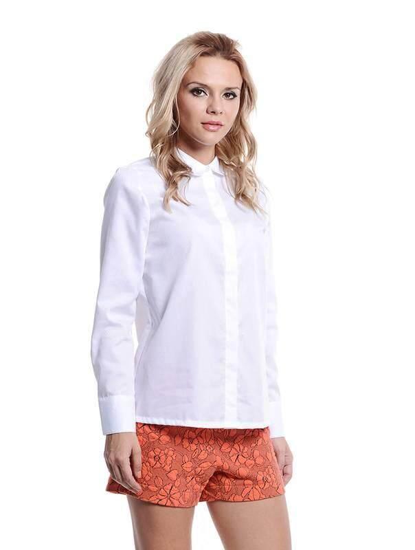 Jazz & Co Women white long sleeve tops ( white )