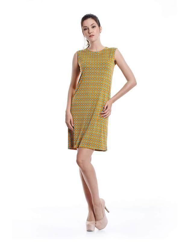 Jazz & Co Women yellow midi dress ( yellow )