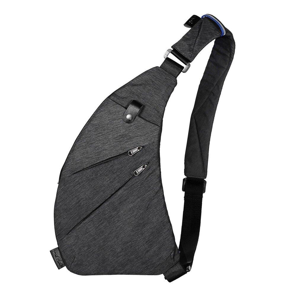 55b8d2db83 JDM Sling Backpack Shoulder Chest Crossbody Bag Lightweight Casual Outdoor  Sport Travel Hiking Multipurpose Anti Theft